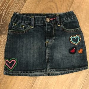 babyGap Denim Skirt